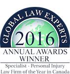 Global Law Experts 2016 Annual Winner - Pipella Law