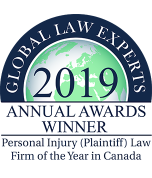 Global Law Experts Winner | Personal Injury Law firm of the Year in Canada | Pipella Law