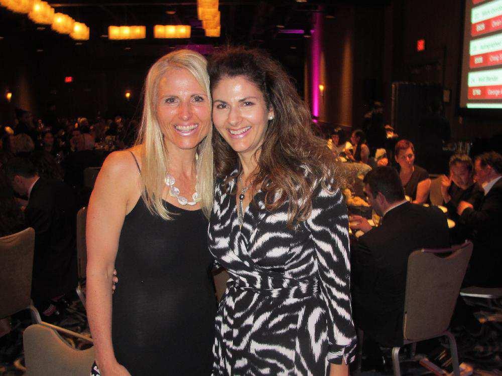 Tara Pipella (left) and Sloan Pipella-Clark